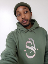 Load image into Gallery viewer, Unisex Heavy Blend™ Hooded Sweatshirt - SAFI NAKIHIMBA Rose Gold Logo (2020)