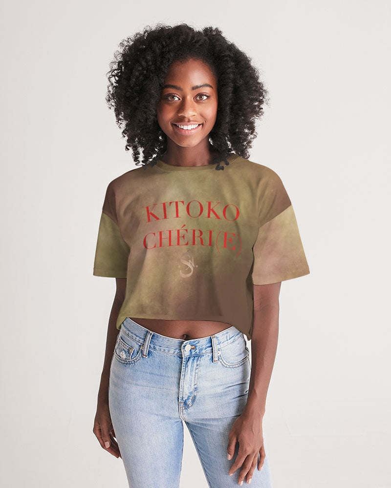 KITOKO CHÉRI(E) No.1 (2020) Women's Lounge Cropped Tee