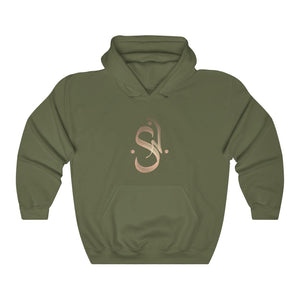Unisex Heavy Blend™ Hooded Sweatshirt - SAFI NAKIHIMBA Rose Gold Logo (2020)