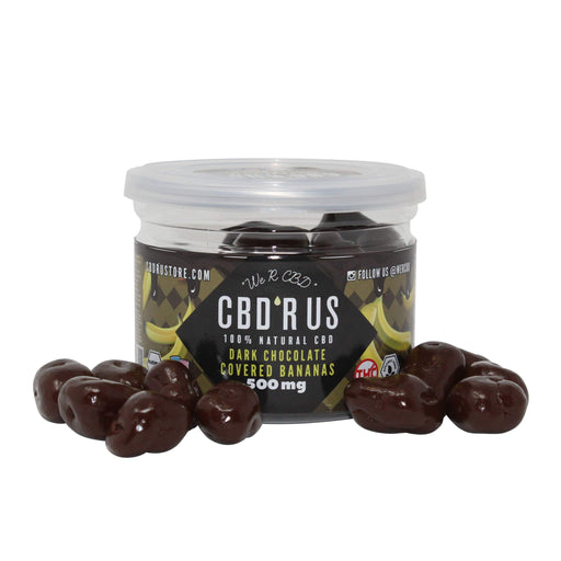 CBDRUS Dark Chocolate Covered Bananas
