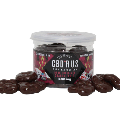 CBDRUS Dark Chocolate Covered Dragon Fruit