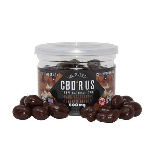 CBDRUS Dark Chocolate Covered Ginger