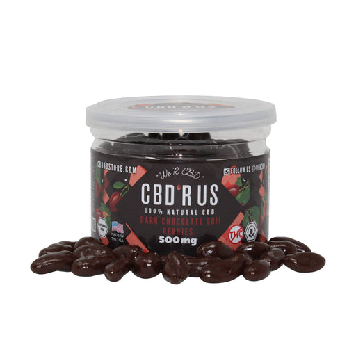 CBDRUS Dark Chocolate Covered Goji Berries