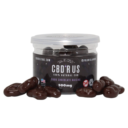 CBDRUS Dark Chocolate Covered Raisins