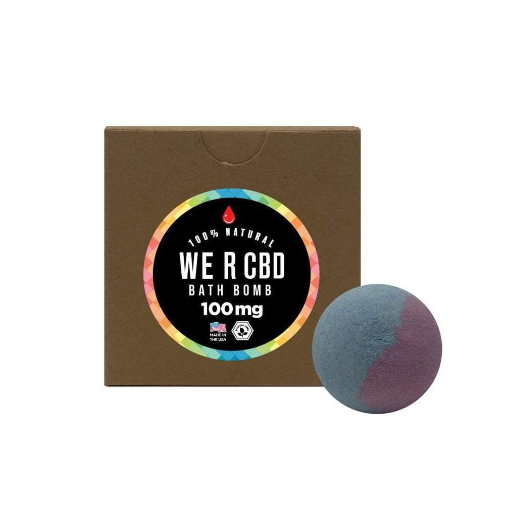 CBDRUS Flower Child CBD Bath Bomb
