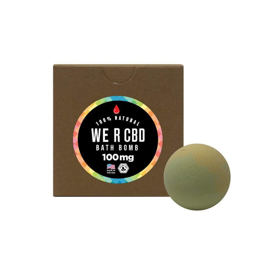 CBDRUS Orange Sunshine CBD Bath Bomb