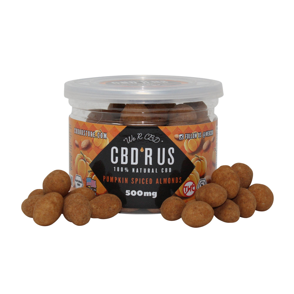 CBDRUS Pumpkin Spiced Almonds