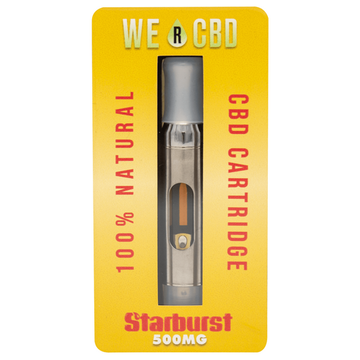 WE R CBD 500mg CBD Vape Oil - Starburst