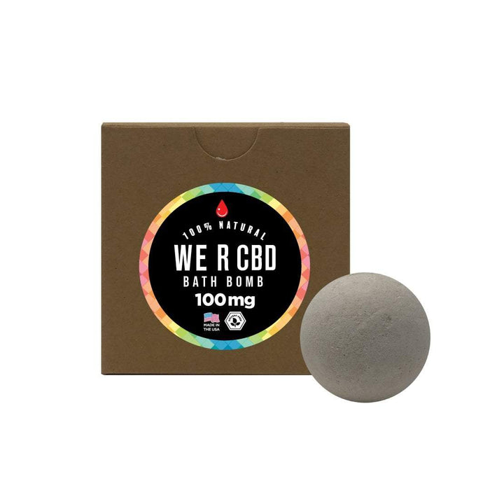 WE R CBD Unicorn Love CBD Bath Bombs