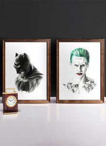 AFFLECK VS LETO | Set of 2