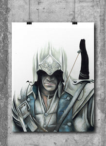 Assassins Creed | Limited Edition | Hand Drawing by Wil Shrike