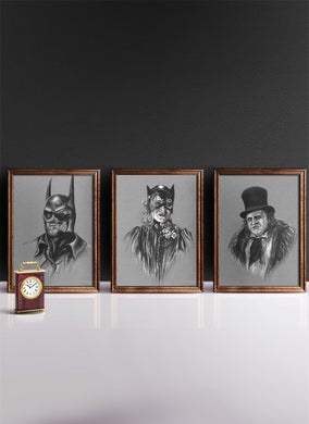 BATMAN RETURNS | Set of 3