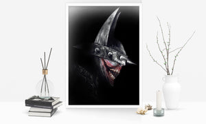 Batman Who Laughs/Limited Edition/Hand Drawing by Wil Shrike