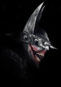 Batman Who Laughs by Wil Shrike
