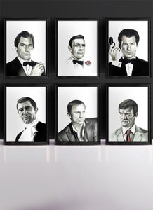 007 | The BONDS | Set of 6