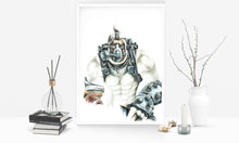 Load image into Gallery viewer, Krieg/Borderlands | Limited Edition | Hand Drawing by Wil Shrike