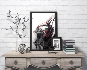 Carnage/Limited Edition/Hand Drawing by Wil Shrike