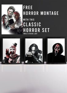 CLASSIC HORROR VI | Set of 3