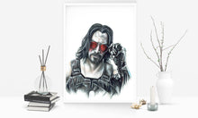 Load image into Gallery viewer, CyberPunk 2077/Limited Edition/Hand Drawing by Wil Shrike