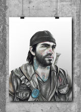 Load image into Gallery viewer, Deacon/Days Gone | Limited Edition | Hand Drawing by Wil Shrike