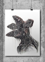 Load image into Gallery viewer, Demogorgan/Limited Edition/Hand Drawing by Wil Shrike
