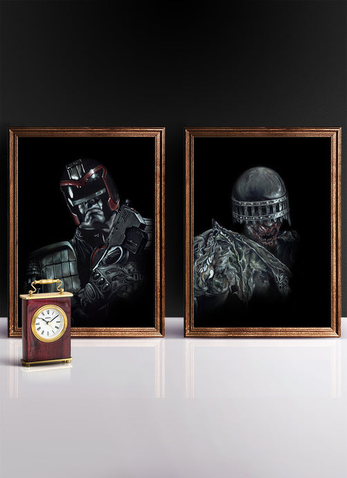 DREDD VS DEATH | Set of 2