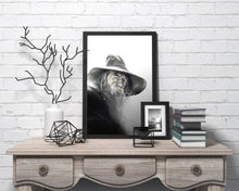 Load image into Gallery viewer, Gandalf the Grey | Limited Edition | Hand Drawing by Wil Shrike