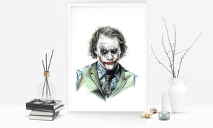 Joker/Heath Ledger