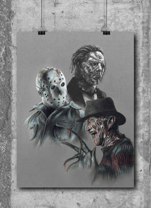 CLASSIC HORROR III | Set of 3