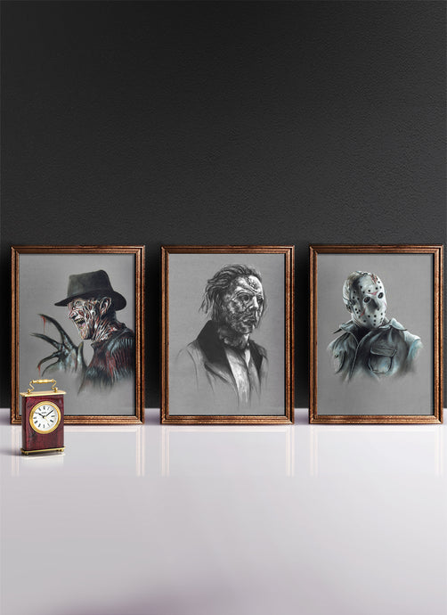 CLASSIC HORROR | Set of 3