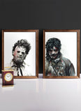LEATHERFACE 1978 vs 2006 | Set of 2