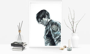 Leon and Claire/Resident Evil 2/Print Set