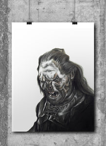 Lurtz | Limited Edition | Hand Drawing by Wil Shrike