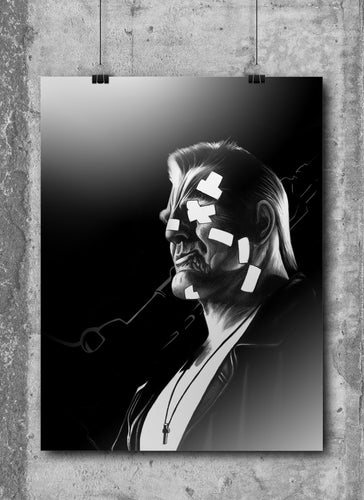 Marv/Sin City | Limited Edition | Hand Drawing by Wil Shrike