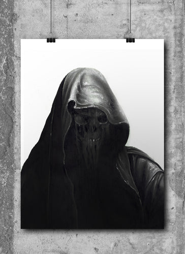 Nazgul/Ring Wraith | Limited Edition | Hand Drawing by Wil Shrike