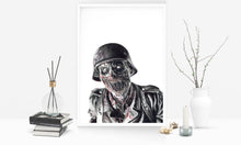 Load image into Gallery viewer, Nazi Zombie/Call of Duty/Limited Edition/Hand Drawing by Wil Shrike