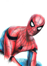 Load image into Gallery viewer, Spiderman/Limited Edition/Hand Drawing by Wil Shrike