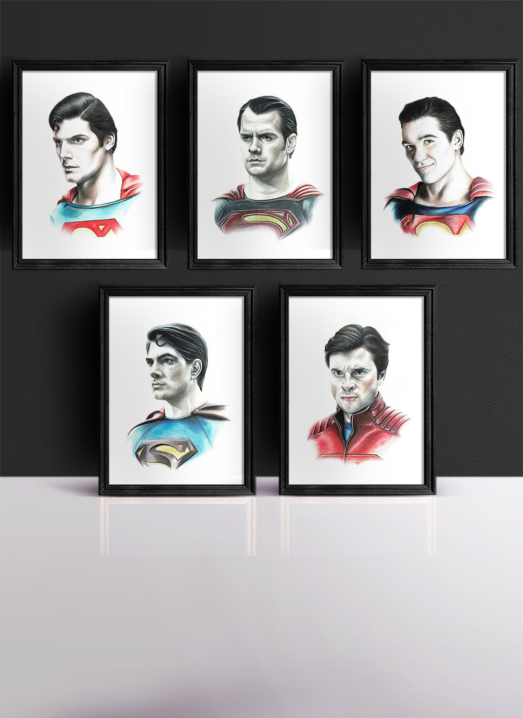 SUPERMAN | Set of 5