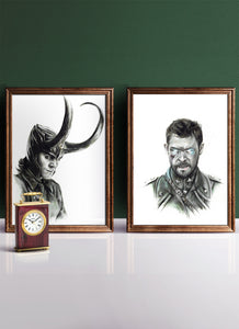 THOR & LOKI | Set of 2