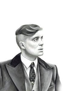 Thomas Shelby/Peaky Blinders/Limited Edition/Hand Drawing by Wil Shrike