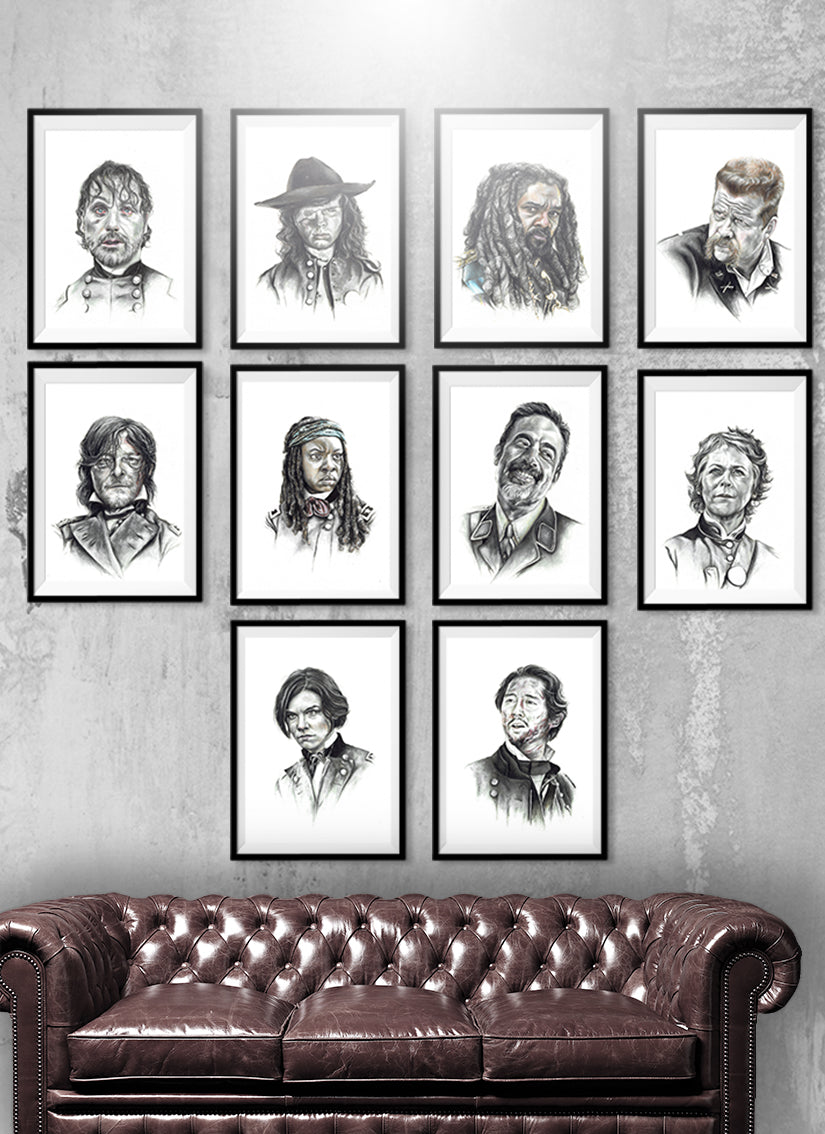 WALKING DEAD | Set of 10