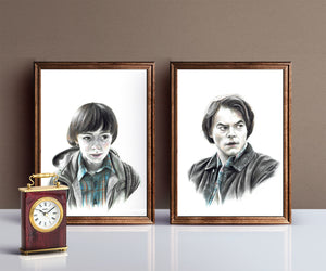 Jonathan Byers/Limited Edition/Hand Drawing by Wil Shrike