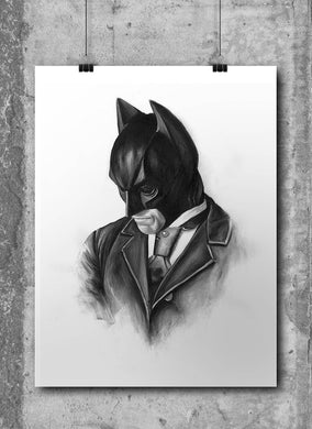 Batman by Wil Shrike