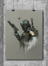 Load image into Gallery viewer, Bobba Fett by Wil Shrike
