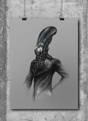 Alien by Wil Shrike