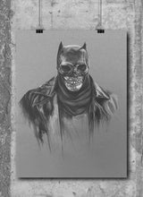 Load image into Gallery viewer, Zombie Batman/Limited Edition/Hand Drawing by Wil Shrike