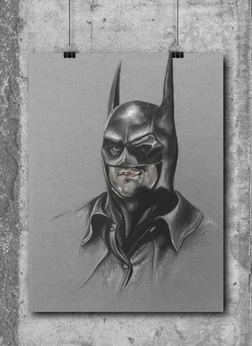 Michael Keaton Batman by Wil Shrike