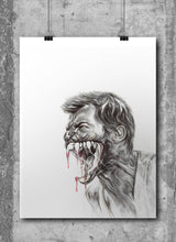 Load image into Gallery viewer, Wolverine/Limited Edition/Hand Drawing by Wil Shrike