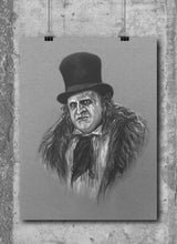 Load image into Gallery viewer, The Penguin/Limited Edition/Hand Drawing by Wil Shrike