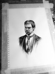 Dexter/Limited Edition/Hand Drawing by Wil Shrike